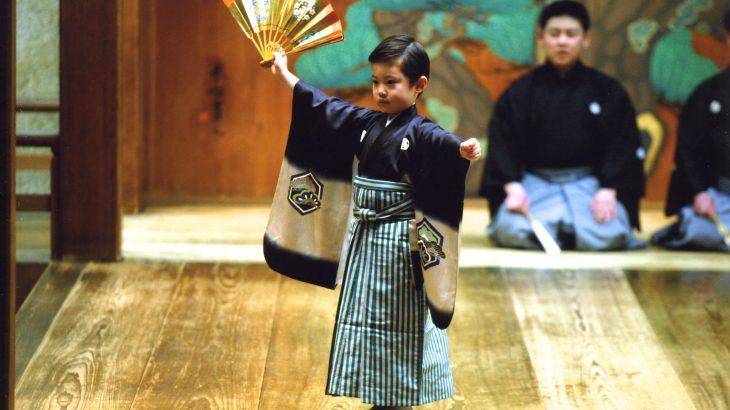 仕舞「鶴亀」凜三 2011 (6歳)